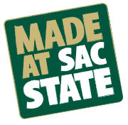 The Made at Sac State logo
