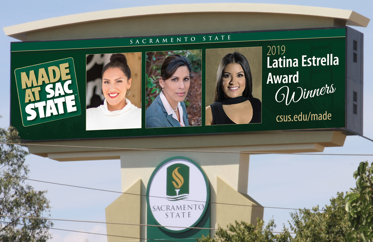 Three Sacramento State alums win 2019 Estrella awards